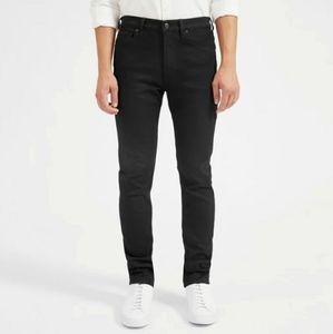 Everlane Slim Fit Black Jeans